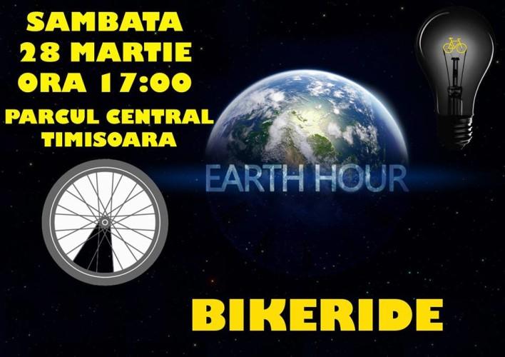 afis pedalare ora pamantului 2015