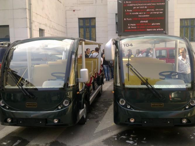Minibuze electrice