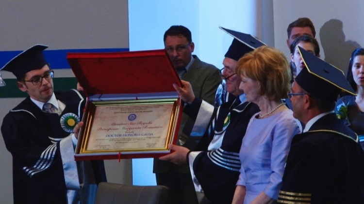 Doctor Honoris Causa - Principesa Margareta-