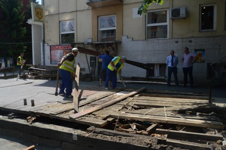 demolare terase