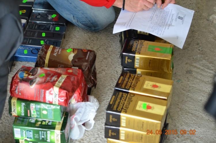 cafea confiscata
