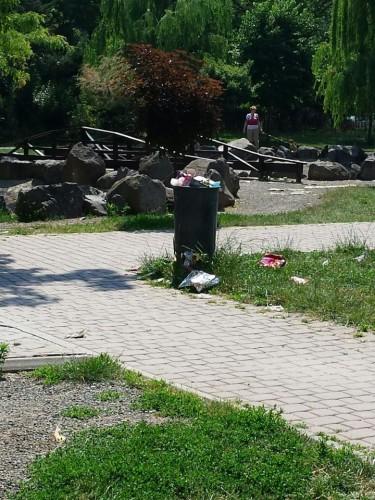gunoaie parcul padurice