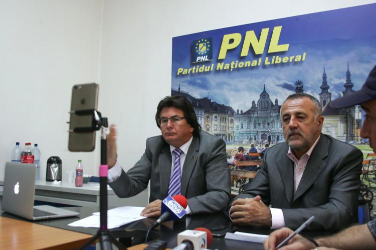Nicolae Robu, Dan popa vicepresedinti PNL Timis, experiment conferinta 03