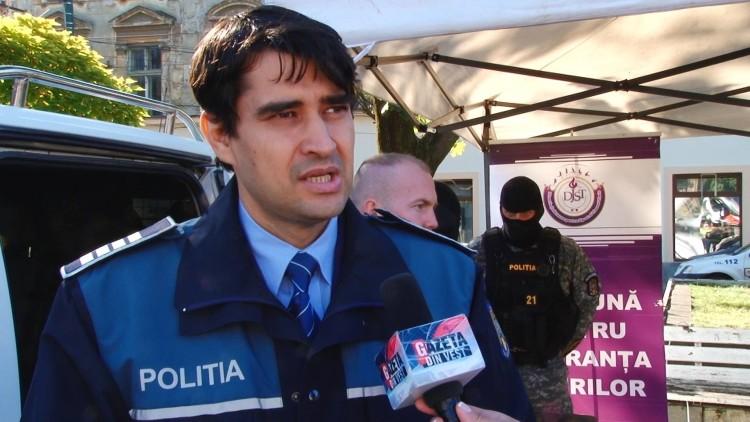 Florin Bacioiu- ag. sef adj Politie