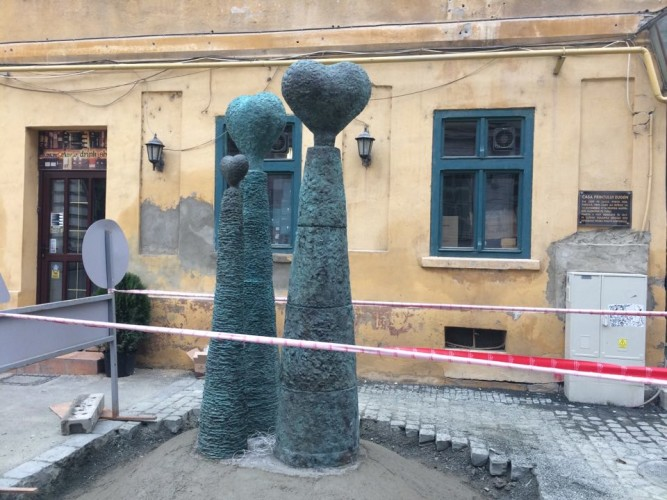 statuia Ansamblu de coloane