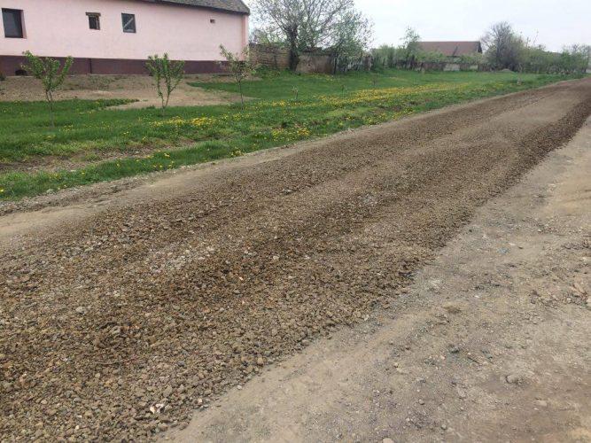 asfaltare drum Biled
