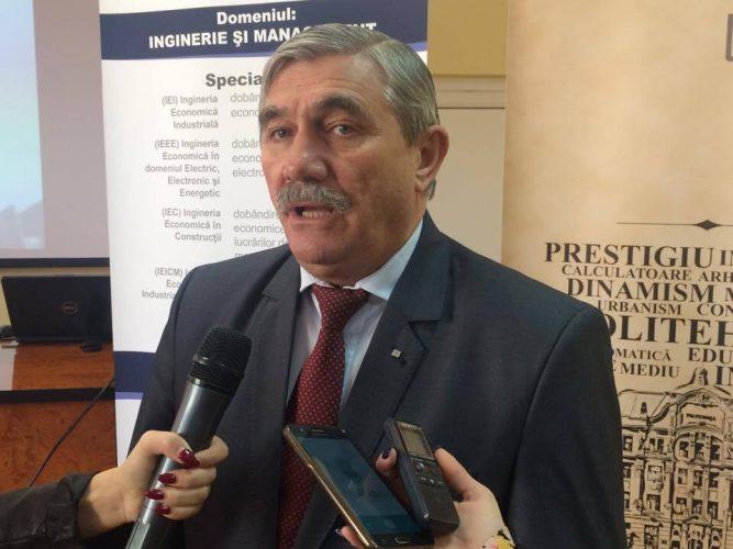 Viorel Serban -rector UPT-