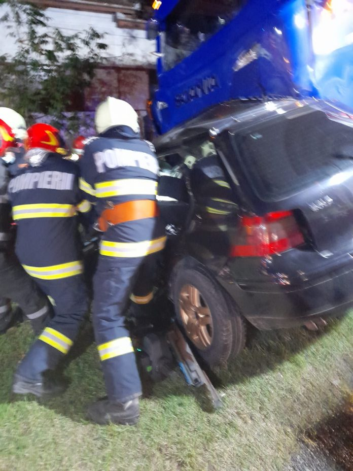 accident grav caras